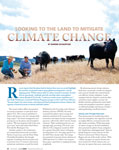 Looking to the Land to Mitigate Climate Change cover
